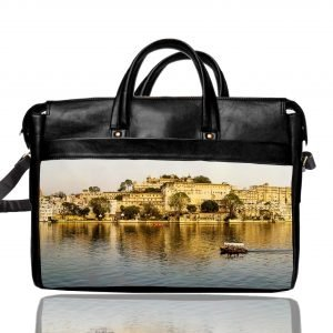 udaipur printed laptop bag