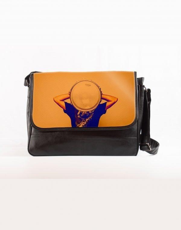 face plate printed laptop bag
