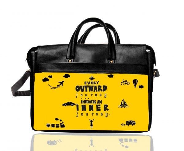 every outward journey laptop bag