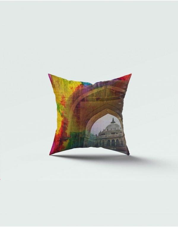 Architect print cushion