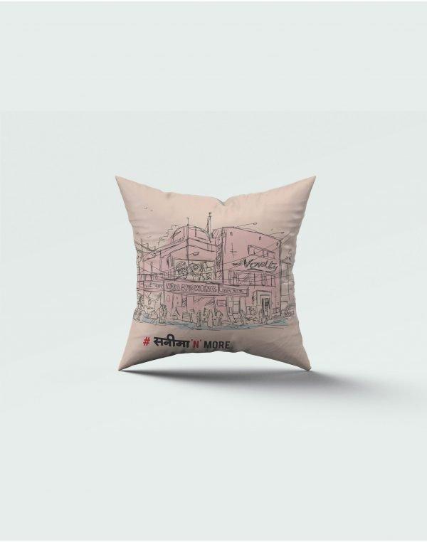 sanina print cushion