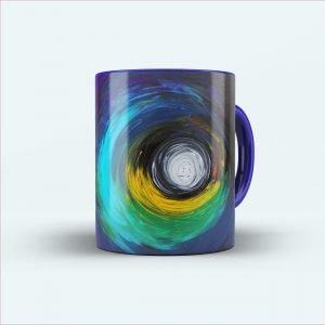 color painting printed mug
