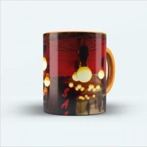 Bulb Printed mug