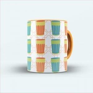 glass printed mug