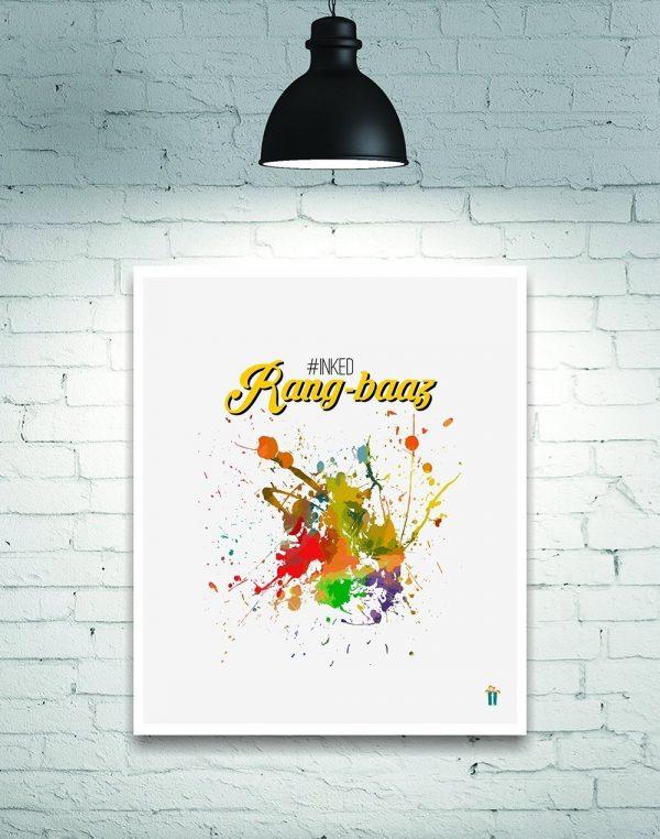 rang baaz wall poster