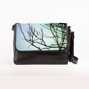 Sky tree laptop bag