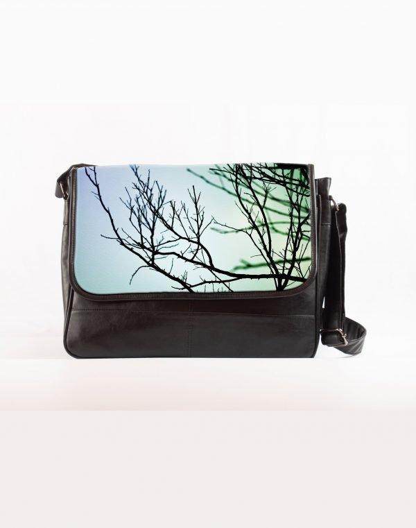 Sky tree laptop bag