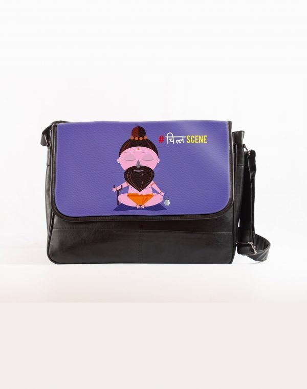 Chill scene laptop bag