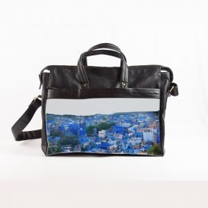 Jodhpur blue city laptop bag