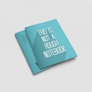 quote printed high quality notebook6