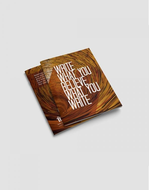 quote printed high quality notebook