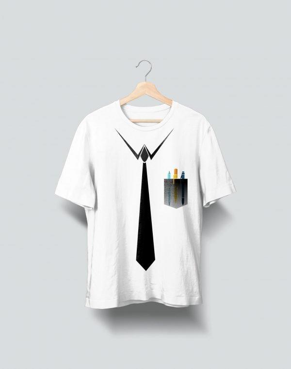 office office white t shirt