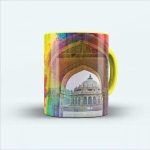 Architecture printed mug
