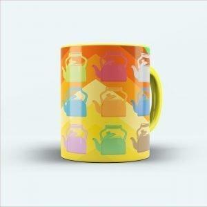 Chai printed coffee mug