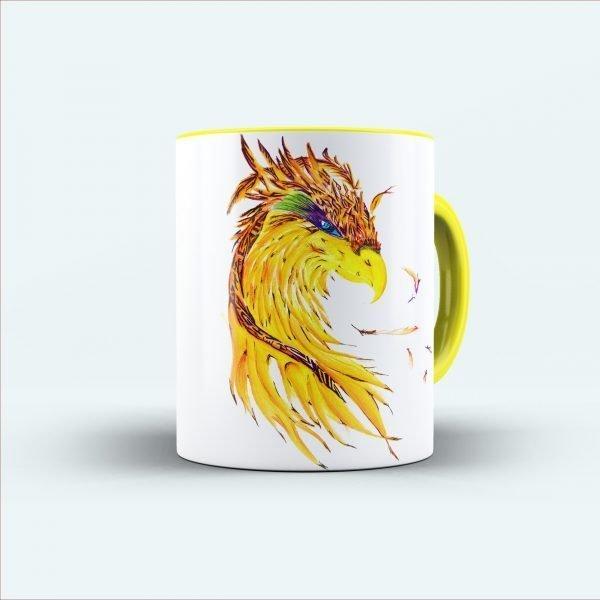 Eagle printed mug
