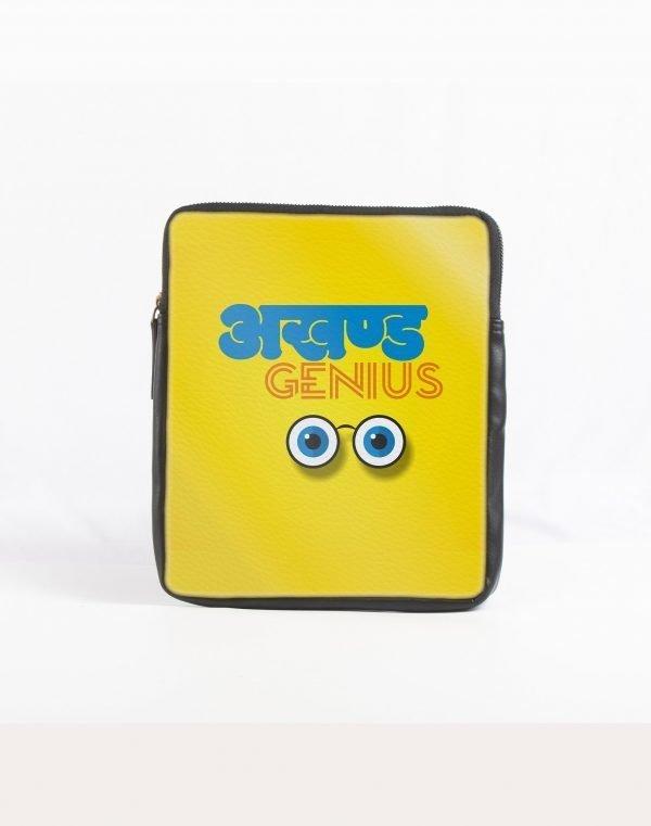 Akhand genius ipad sleeve yellow